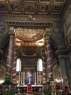 Basilica di Santa Maria Maggiore #Rome Santa Maria Maggiore, Iglesias, Rome, Building, Pictures, Photos, Buildings, Construction, Grimm