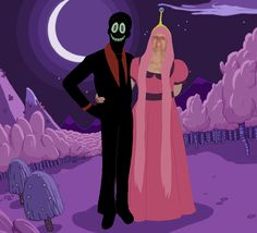 Nergal And Princess Bubblegum in Cosplay