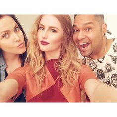 Studio B Selfie with Annika Backes for Steve Madden.