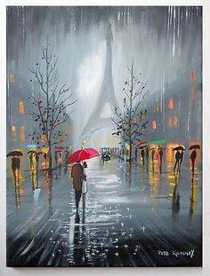 Resultado de imagem para painter london rain