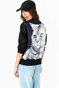 Cat's Meow Bomber Jacket