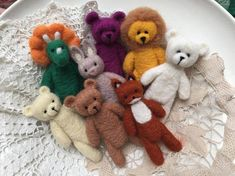 Image result for needle felted tiny bear