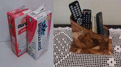 Ótima ideia para reciclar caixas de leite e filtro de café! Espero que gostem, Inscreva-se no canal para receber dicas de artesanatos reciclando. e não esque...