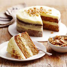 A homegrown South African teatime treat. Apple Cake Recipes, Baking Recipes, No Bake Cookies, No Bake Cake, African Cake, Easy Desserts, Dessert Recipes, Tea Cakes, Carrot Cake