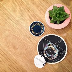 ➕ Made in Melbourne ➕  Dot & Co Jewellery Dishes    Cassie Louise Designs Anthena Bracelets   Coral & Herb Concrete Pots   A Good Space   Melbourne