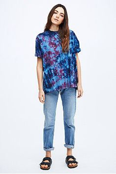 Type dye tshirt urban outfitters