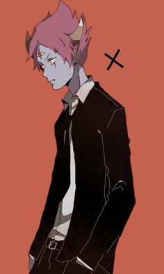 Tom from Star vs the Forces of Evil - humanized/ anime version/ gijinka