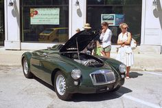 MGA Twin Cam (With double Lancia reflection)