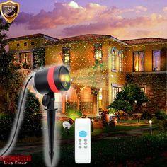 Laser Lights Show Projector Spotlight Xmas Decoration Wireless Remote Outdoor #LaserLightsShow