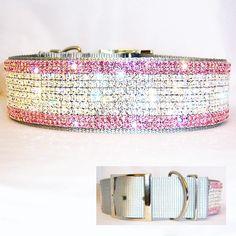 Sparkling Princess 2 inch Collar