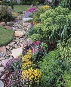 Fine Gardening Magazine  A streambed stops erosion and enhances the landscape - win-win!