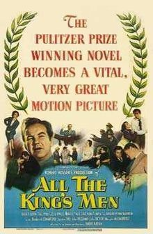 All the King's Men is a 1949 drama film based on the Robert Penn Warren novel of the same name. It was directed by Robert Rossen and starred Broderick Crawford in the role of Willie Stark. Academy Award Winning Movies, Academy Awards Best Picture, Academy Award Winners, Oscar Winners, Broderick Crawford, John Derek, Oscar Best Picture, Best Picture Winners, Man Movies