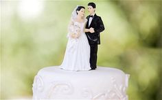 The wedding cake was not always eaten by the bride. It was originally thrown at her to symbolize her fertility.
