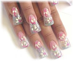 21 Beautiful And Appealing Samples Of Acrylic Nail Designs