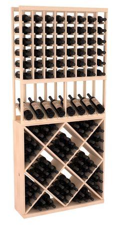 138 Bottle High Reveal Wine Storage Rack Kit Combo 1 in Pine. 13 Stains to Choose From! 138 Bottle High Reveal Wine Storage Rack Kit Combo 1 in Pine. Wine Bottle Storage, Wine Rack Storage, Wine Bottle Rack, Bottle Labels, Storage Cubes, Bottle Stopper, Storage Ideas, Bottle Opener, Wine Cellar Basement