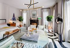 New York-based interior designer Paris Forino designs a 'Home for the Holiday's' room for this year's fantastic Holiday House.
