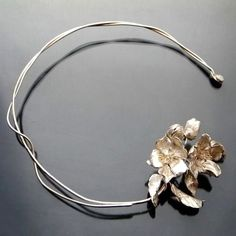 Apple Blossom Silver Collar Necklace - product images  of SCHJ  www.silverchamber...