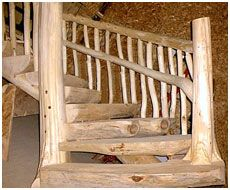 Natural Spiral Stairs