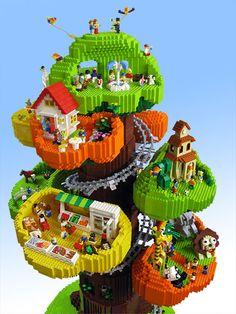 LEGO Tree Town