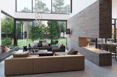 cool Déco Salon - Salon moderne design en 42 idées par Alexandra Fedorova