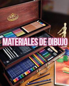 Descubre aquí la lista más completa de los mejores materiales de dibujo, herramientas e instrumentos para dibujar, no te lo pierdas, conviértete en el mejor