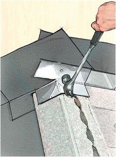 Roofing contractor Gary Herman shows you his process for installing step flashing the right way–a crucial part of any successful roofing installation to prevent water from finding its way into a house. Roofing Tools, Diy Roofing, Roofing Shingles, Roof Replacement Cost, Roof Leak Repair, Roof Sealant, Interior Paint Colors For Living Room, Clay Roof Tiles, Roof Flashing