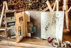 """Magic Attic Design by Maria Lillepruun: 4 этап СП """"Magic School"""" - Altered book о красоте"""