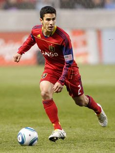 My beloved Real Salt Lake defender Tony Beltran made Cosmo's Hot Soccer Players We Can't Resist <3