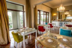 Clarendon Fresnaye dining room Cape Town Accommodation, Hotel Reviews, Table Settings, Dining Room, Table Decorations, Boutique, Furniture, Home Decor, Decoration Home