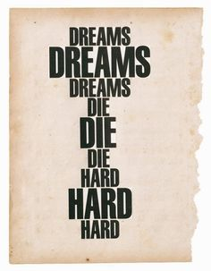 Dreams Die Hard, Dash Snow, 2006-2007