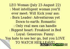 A woman Leo