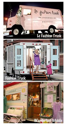 Boutique on wheels