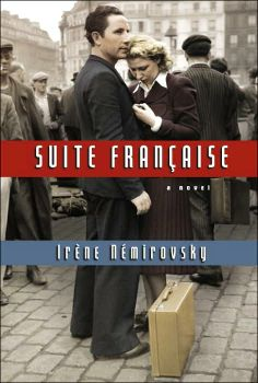 suite française by irène némirovsky. discusses french deportation of jews written by a jewish girl. it was never completed as the author was deported to a concentration camp before its completion.
