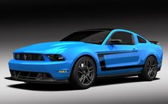 Photographs of the 2012 Ford Mustang Grabber Blue Boss 302 Laguna Seca. An image gallery of the 2012 Ford Mustang Grabber Blue Boss 302 Laguna Seca. Ford Mustang Boss, Blue Mustang, 2012 Ford Mustang, Mustang Cars, Ford Gt, Mustang Stripes, Sexy Cars, Hot Cars, Ford Mustang Wallpaper