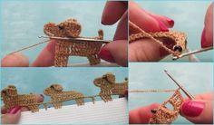 Crochet Dog Edging [Free Video Tutorial] (Your Crochet) Crochet Boarders, Crochet Flower Patterns, Crochet Blanket Patterns, Crochet Motif, Crochet Stitches, Crochet Edgings, Crochet Blankets, Quick Crochet, Learn To Crochet