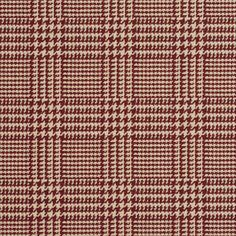 Deep Red and Beige Houndstooth Woven Jacquard Upholstery Fabric By The Yard Shades Of Burgundy, Concept Home, Chair Fabric, Rust Color, Fabric Patterns, Style Patterns, Color Pallets, Pattern Fashion, Houndstooth