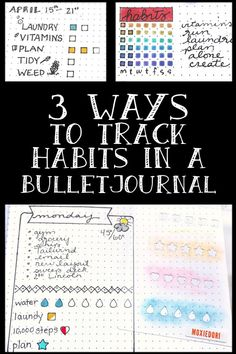 Looking for a new, simple approach to Bullet Journal Habit Trackers? Hop over here for tried and true trackers. Bullet Journal Gifts, Bullet Journal Tracking, Bullet Journal Health, Bullet Journal Christmas, December Bullet Journal, Bullet Journal Stencils, Bullet Journal Spread, Bullet Journal Layout, Bullet Journal Inspiration
