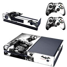 Batman Inspired Xbox One Console and Controller Protective Skins