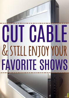 I really enjoy having cable and being able to watch all my favorite shows. I hate the cost, though! This seems like a perfect solution!