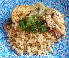 The Way I Cook: Sherry&Tarragon Chicken with Pearl Couscous
