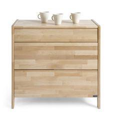 Ručně vyráběná komoda z masivního březového dřeva Kiteen Joki