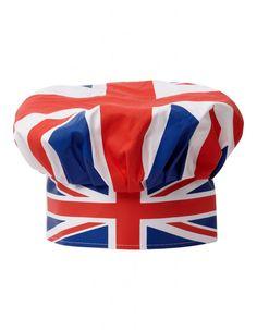 Union Jack ♔ Chef's Hat