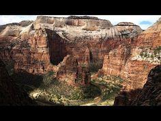 Vues du parc national de Zion de la route panoramique et 4 des meilleures randonnées dans le parc: Observation Point, West Rim Angels Landing, Virgin Narrows.