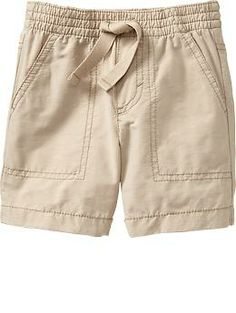 Pull-On Poplin Shorts for Baby   Old Navy $8.50