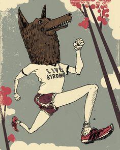 live strong #illustration