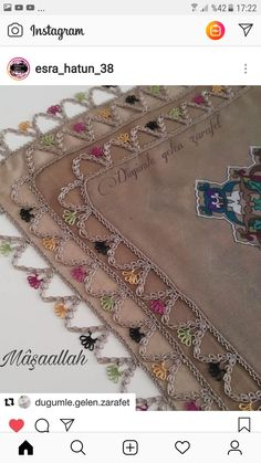 Sewing Case, Needle Tatting, Tatting Patterns, Beaded Embroidery, Bohemian Rug, Elsa, Tassels, Diy And Crafts, Model