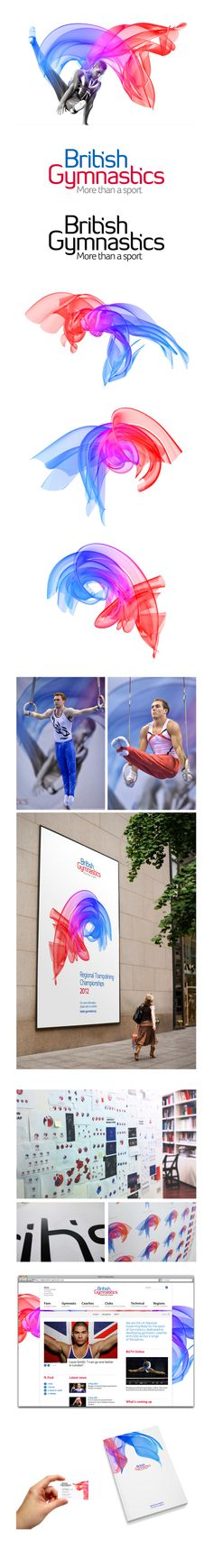 British Gymnastics | Photography: Giles Revell, CGI Artist: Ben Koppel | Inspiring a new generation of participants and fans.