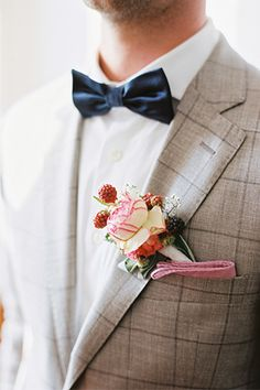 boutonniere with berries Wedding Men, Wedding Groom, Wedding Suits, Wedding Attire, Casual Wedding, Farm Wedding, Wedding Couples, Wedding Bells, Boho Wedding
