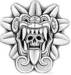 Aztec Symbol Tattoo Design                                                                                                                                                                                 More