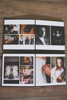 square wedding albums - Google Search